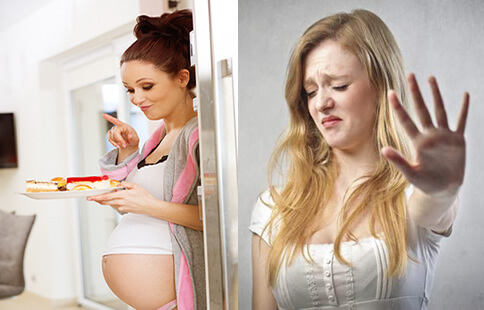 Early Signs Of Pregnancy-food craving