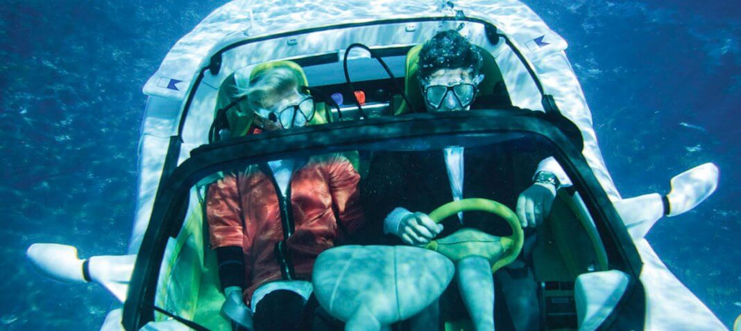 Rich people like to buy submarine sports cars