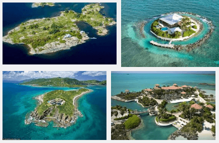 Most Expensive Private Islands Owned By Celebrities