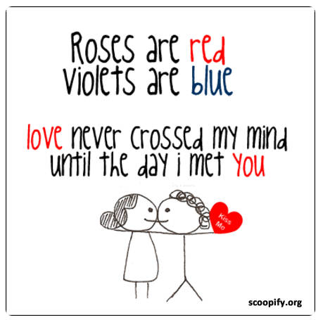 Roses Are Red Violets Are Blue Poems-Scoopify.org