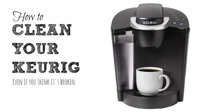 How To Clean Or Descale Keurig Amp Other Coffee Maker