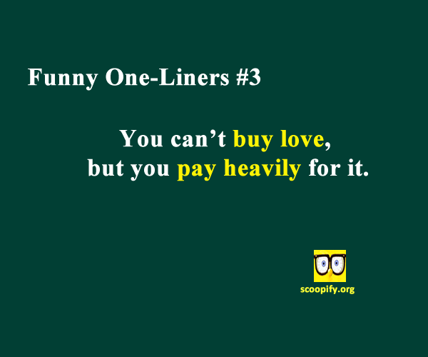 Funny One-Liners #3