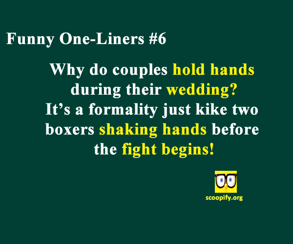 Funny One-Liners #6