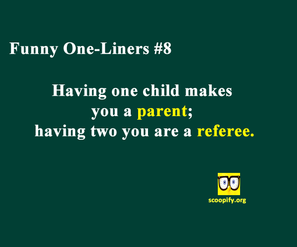 Funny One-Liners #8