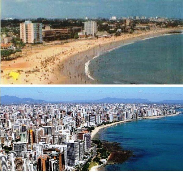 Fortaleza, Brazil – 1970 and now