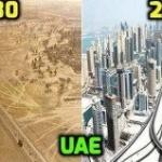 UAE 1980 & now 2015
