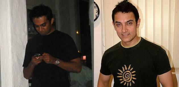 celebrity look alike #Amir Khani