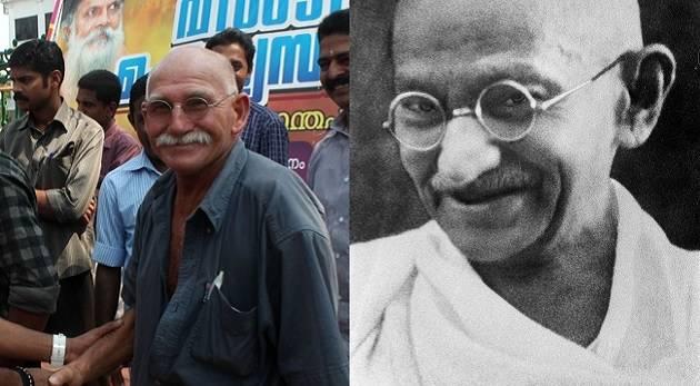 celebrity look alike #Mahatma Gandhi