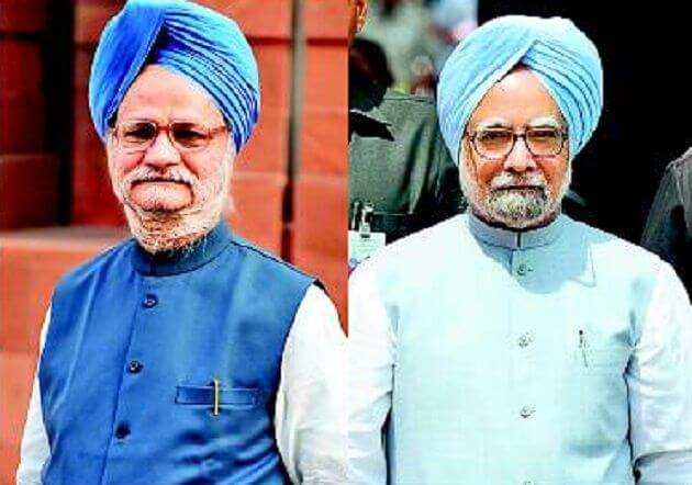 celebrity look alike #Manmohan Singhi
