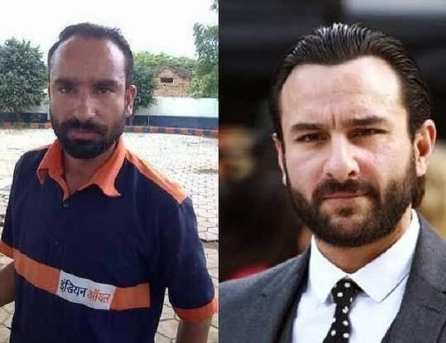 celebrity look alike #Saif Ali Khan