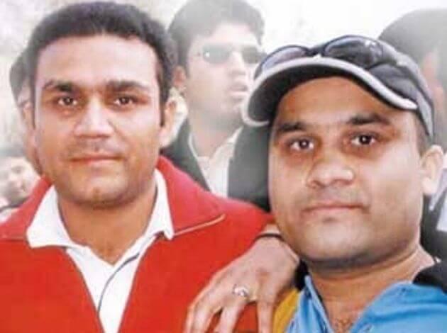 celebrity look alike #Sehwag