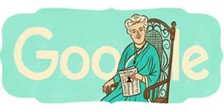 Google Celebrate Annie Besant 168th Birthday Featured
