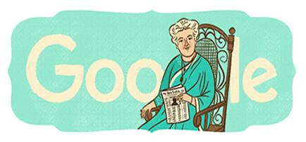 Google Celebrate Annie Besant 168th Birthday Featured