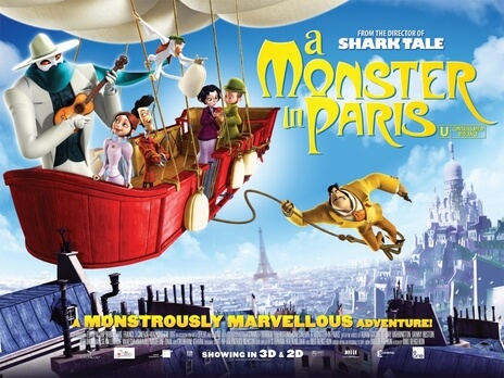 Halloween Movies-A Monster in Paris