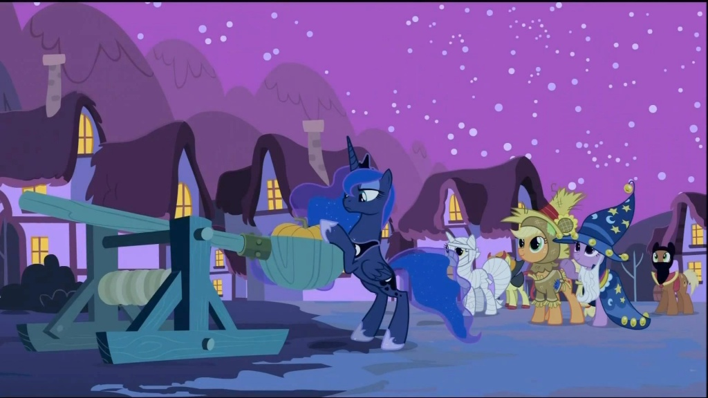 Halloween Movies-Luna Eclipsed