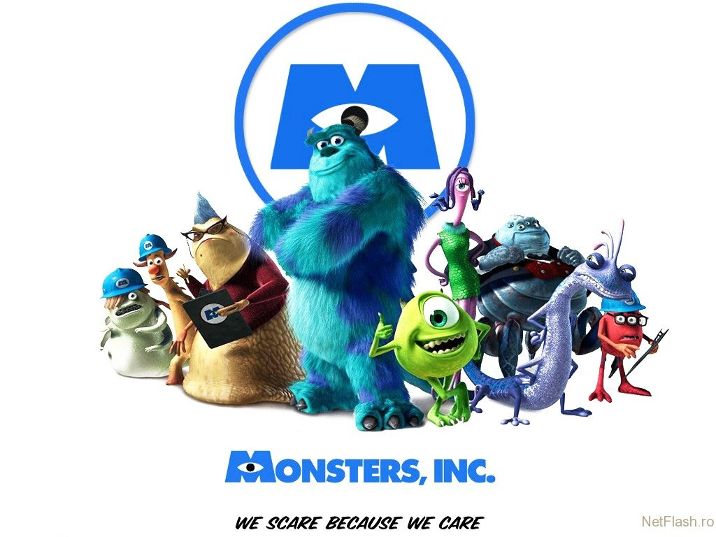 Halloween Movies-Monsters, Inc