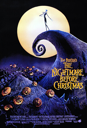 Halloween Movies-The Nightmare Before Christmas