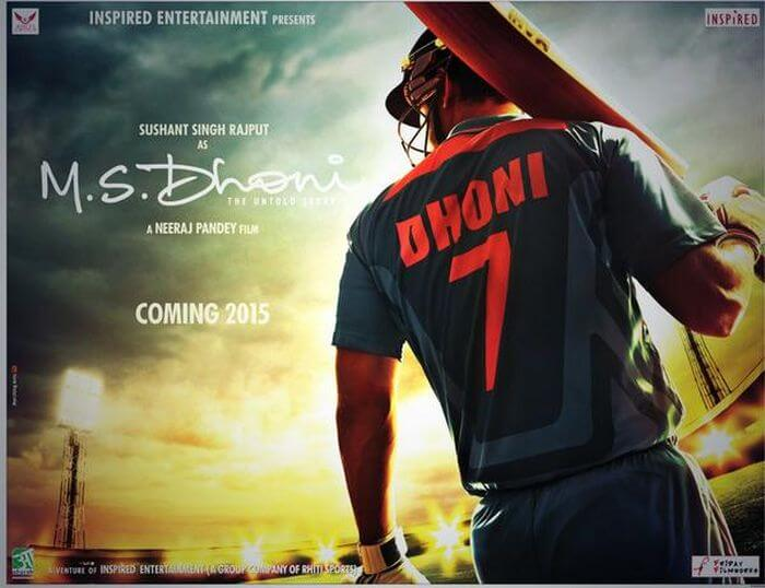Upcoming Bollywood Movies- MS Dhoni