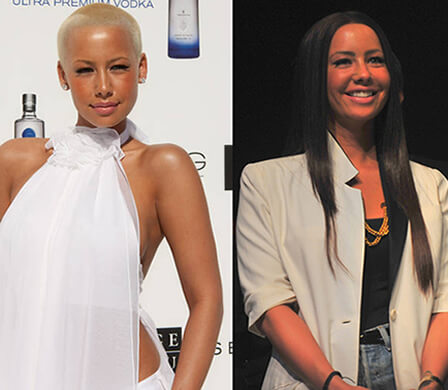 amber rose with hair Featured