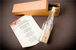 15 Cute Ways to Ask a Girl Out-Message in a bottle