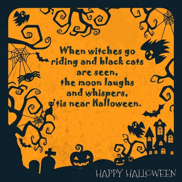 Happy Halloween Quotes And Sayings: Scary Halloween Quotes 2015