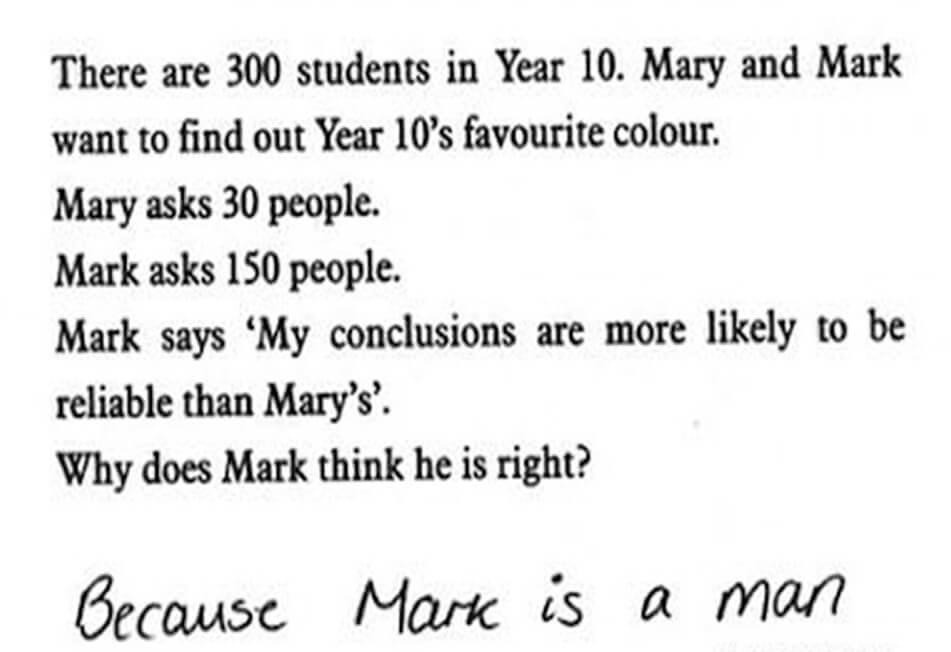 Funny Exam Answers-am I right