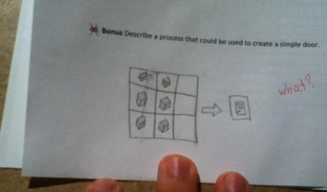 Funny Exam Answers-everything else fails