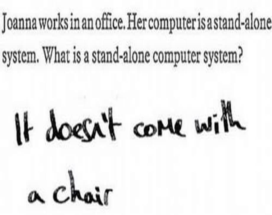Funny Exam Answers-great