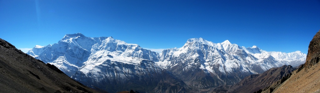 Highest Mountains In The World-Annapurna I, Himalaya