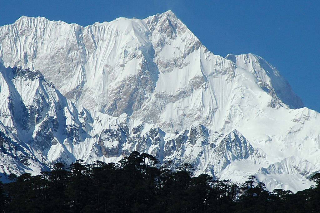 Highest Mountains In The World-Kangchenjunga, Himalaya