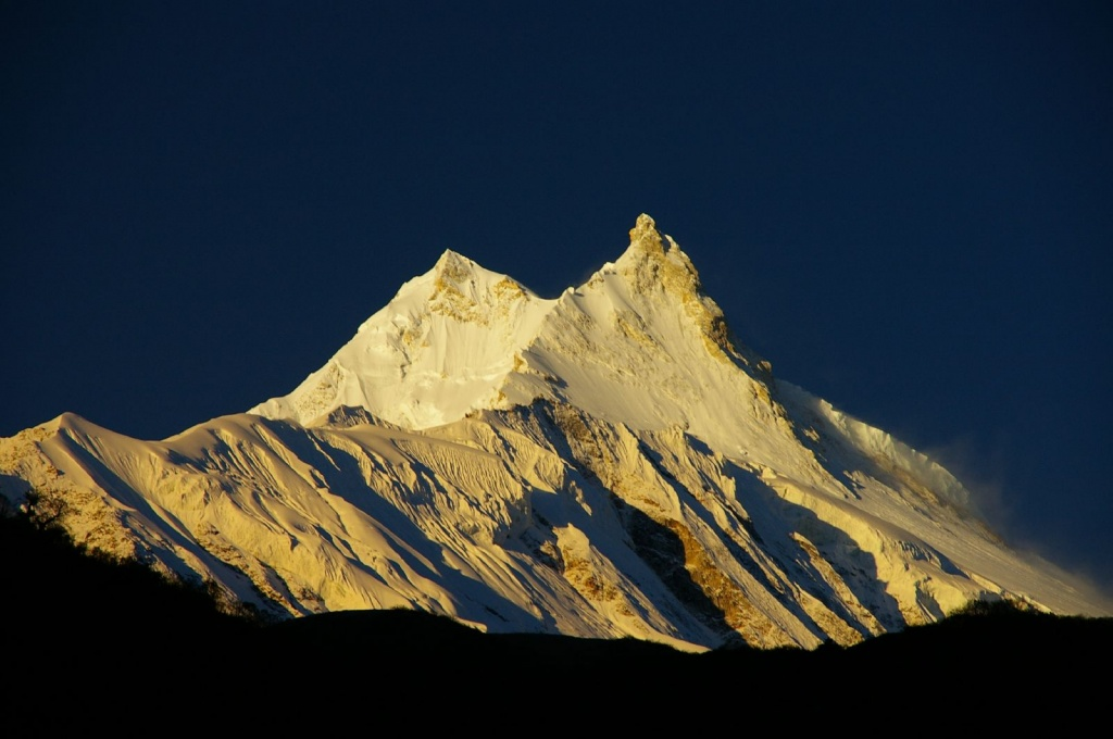 Highest Mountains In The World-Manaslu, Himalya