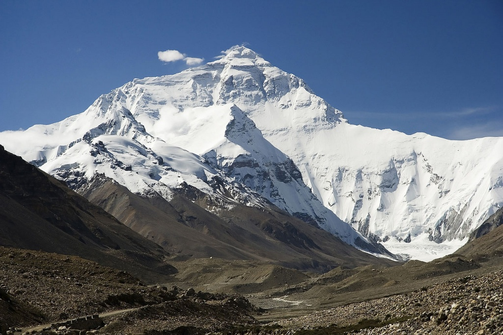 Highest Mountains In The World-Mount Everest, Himalaya