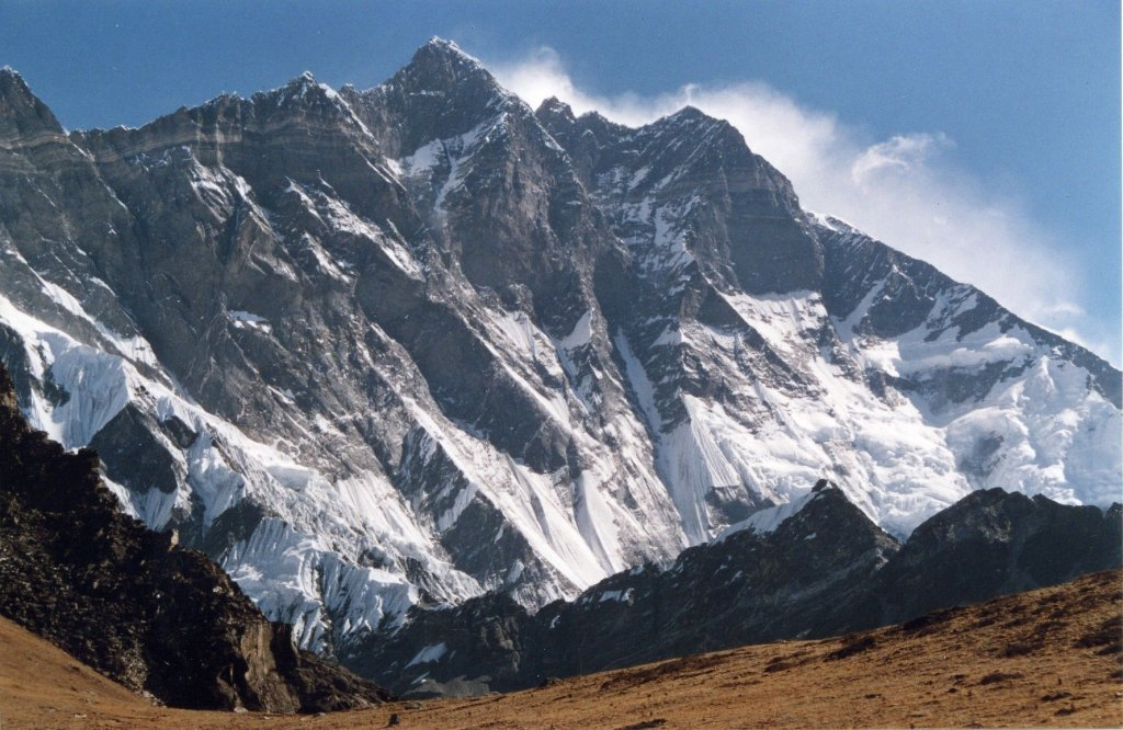 highest mountains in the world-Lhotse