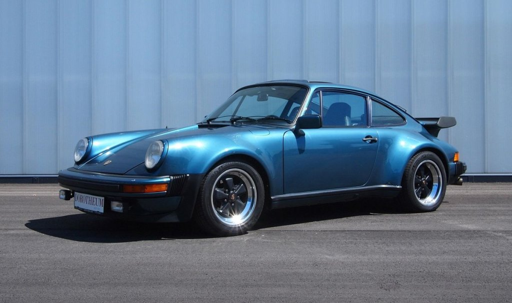 Bill Gates Car Porsche 930