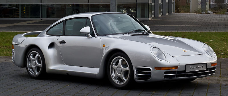 Bill Gates Car Porsche 959 Coupe