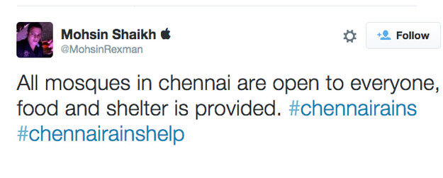 Chennai is beautiful because its doors are open.