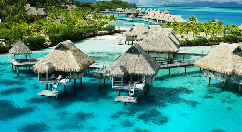 Top 10 Honeymoon Destinations in the World- Hilton Bora Bora Nui Resort & Spa
