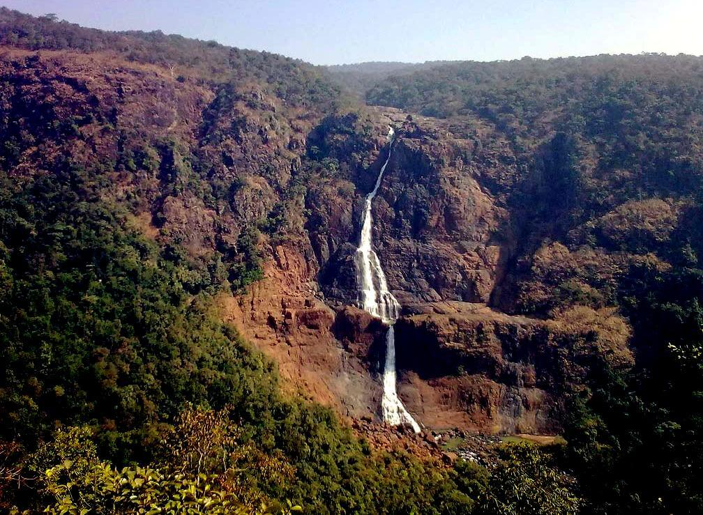 Top 5 Highest Waterfalls in India-Barehipani Falls