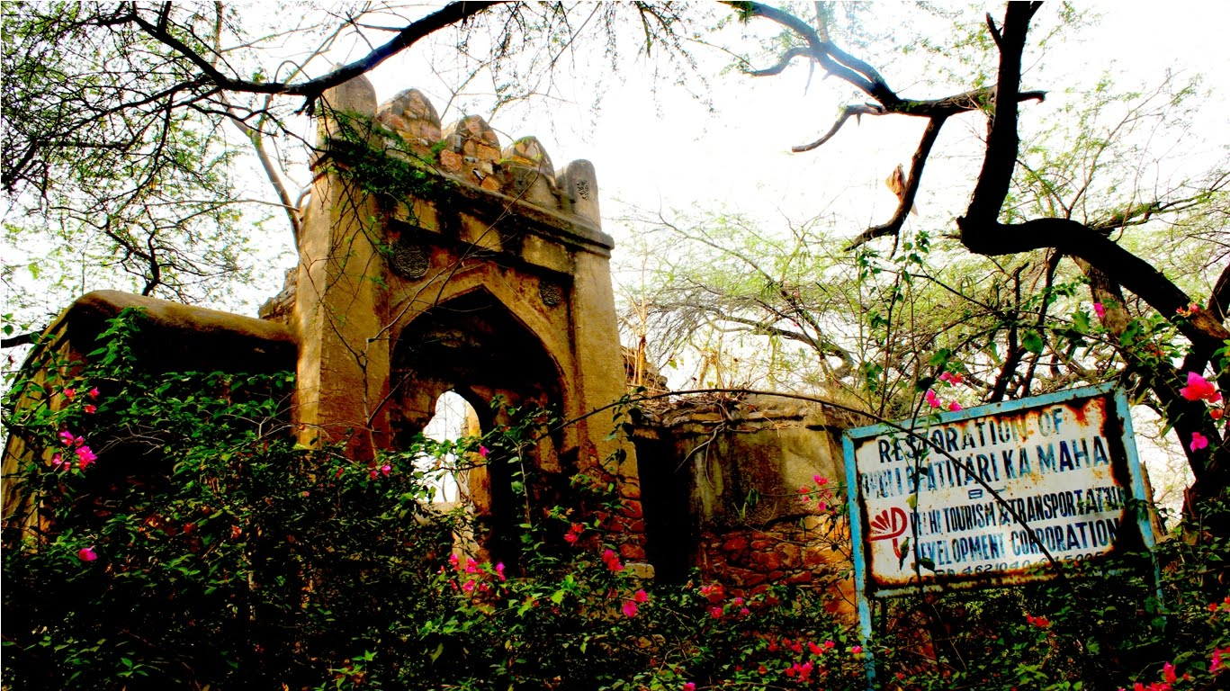 Most Haunted Places In Delhi , Bhuli Bhatiyari ka Mahal
