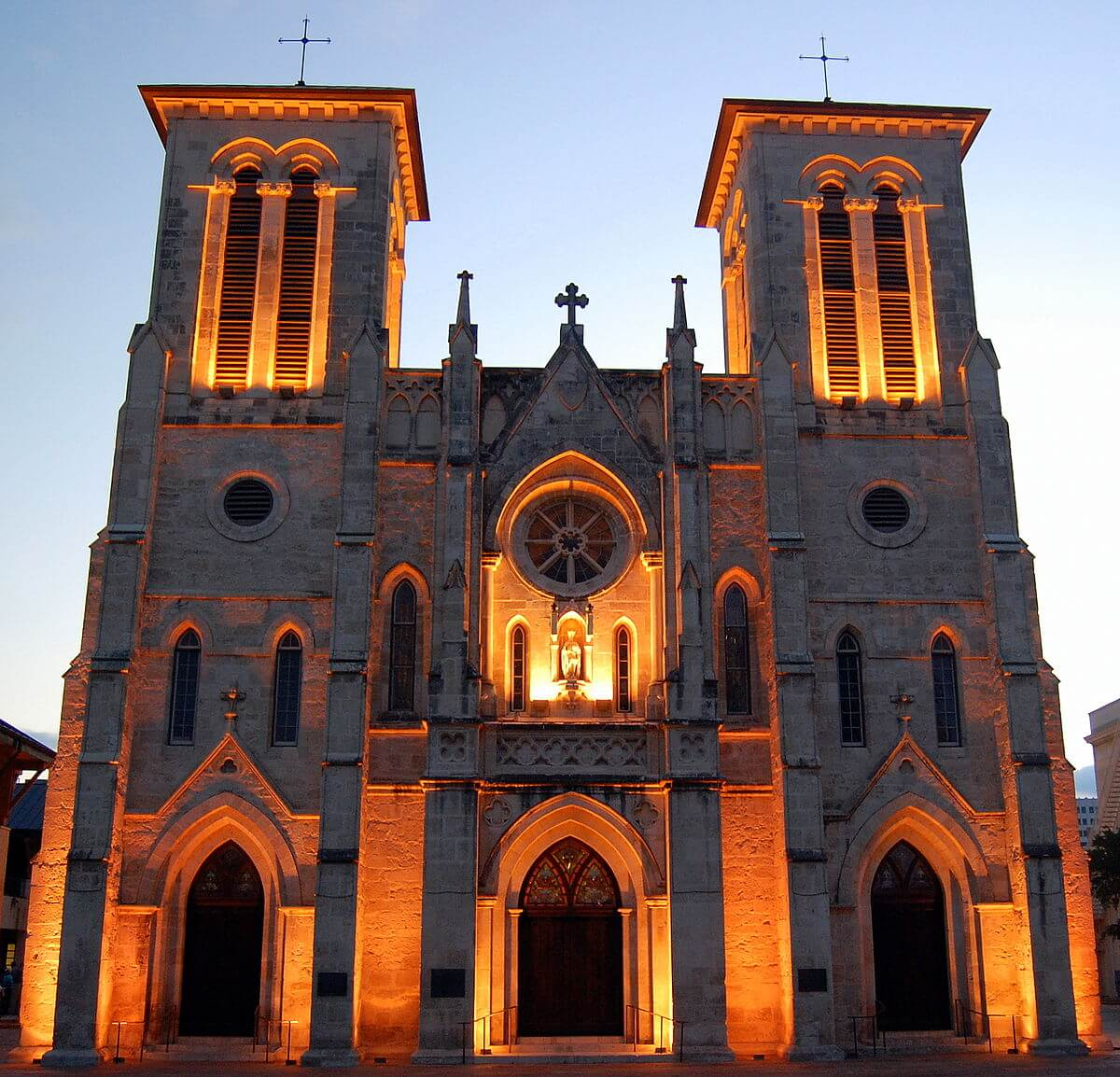 haunted places in america, San Fernando Cathedral