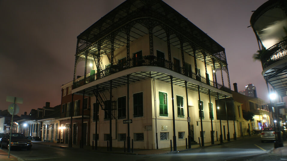 haunted places in america, The Sultan's Palace, New Orleans