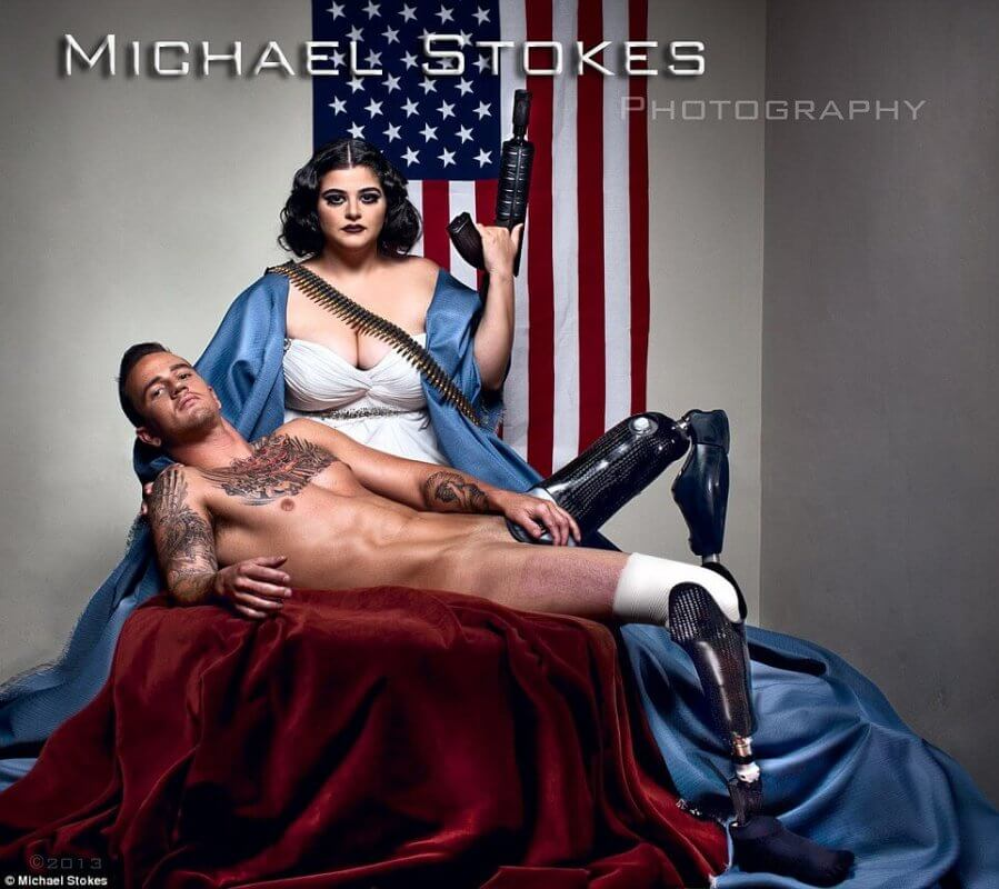 These Attractive Injured War Veterans Can Give A Hot Fight To The Models (1)