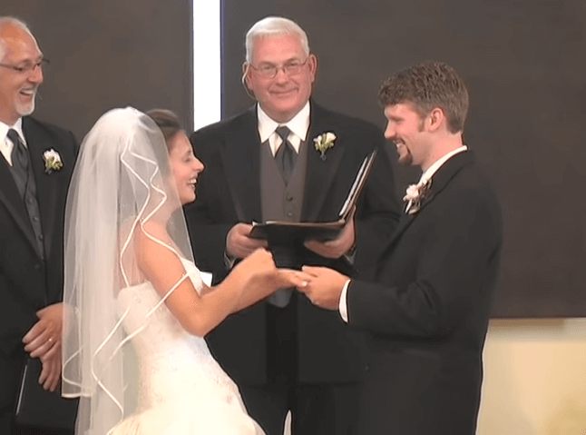 This Bride Couldn't Stop Laughing After Her Groom Made The Most Epic Wedding Ceremony Fail Ever