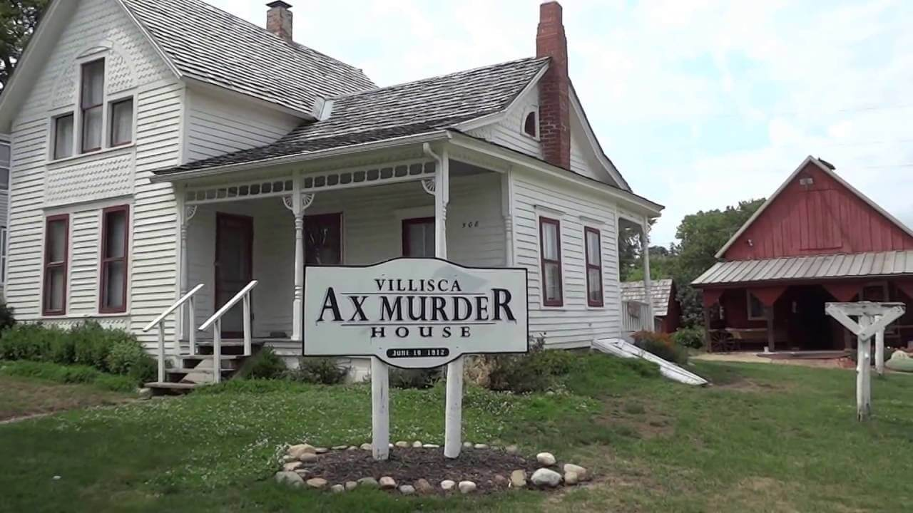 most haunted places in america, Villisca Axe Murder House