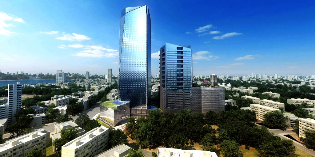 tallest building in India kohsq