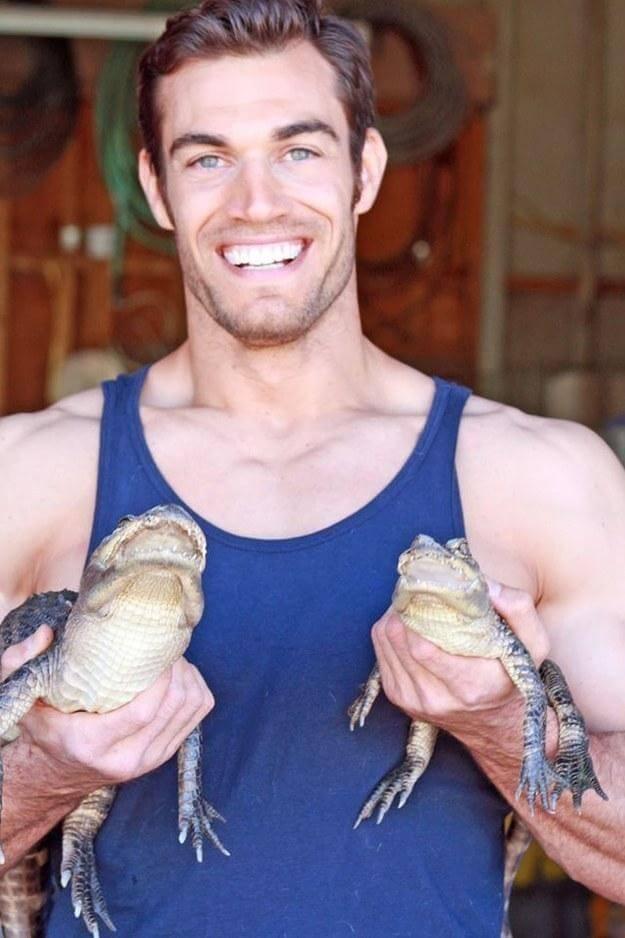Hot Veterinarian animal lover-Dr. Evan Antin