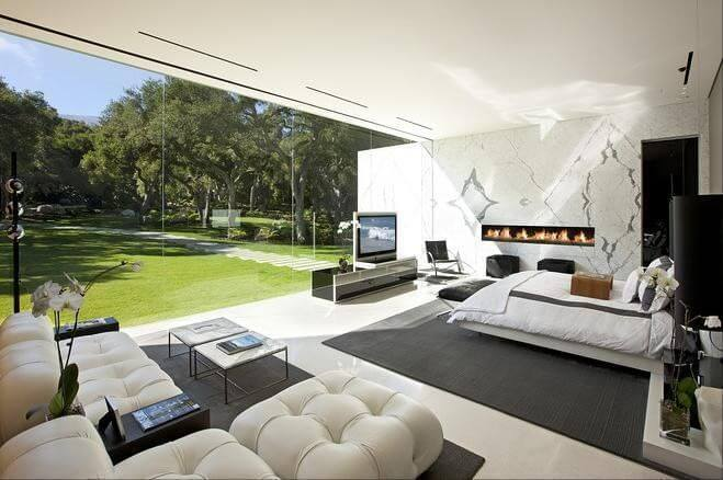 rajinikanth house - Pune house master bedroom