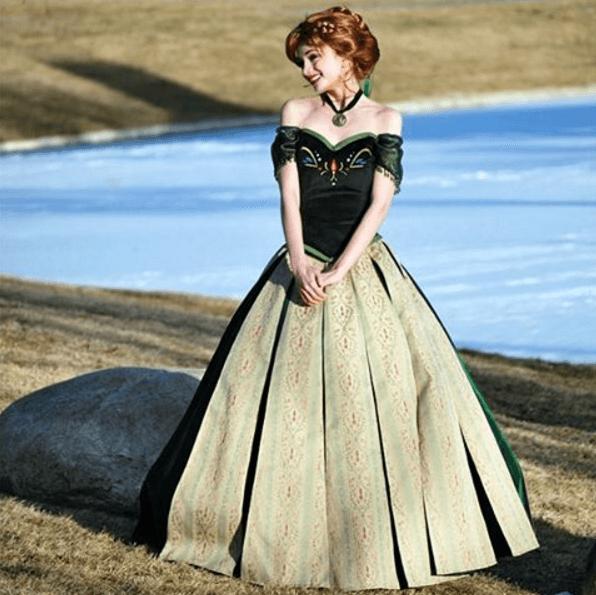 Sarah Ingle Disney princess-Anna