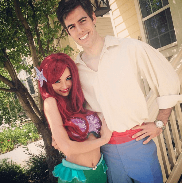 Sarah Ingle Disney princess-Ariel and Prince