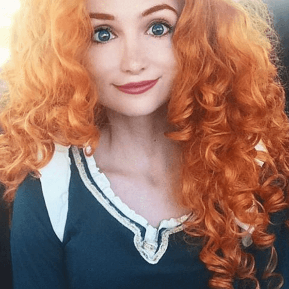 Sarah Ingle Disney princess-Merida